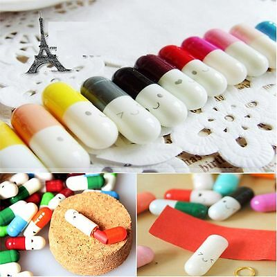 Multi-Color Send Colors 50 Wishing To Adorable 50pcs Capsule Pills Message