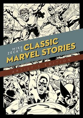Mike Zecks Classic Marvel Stories Artist Edition Hard Cover Hc Idw New