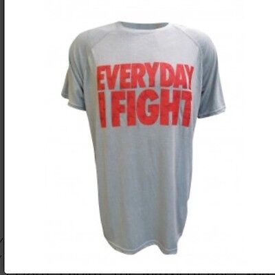 UFC MMA TAPOUT EVERYDAY I FIGHT T-SHIRT Medium