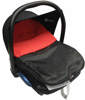 Car Seat  Footmuff / Cosy Toes Compatible with Hauck Red