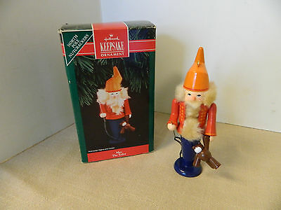 "1992 Hallmark Ornament ""Max The Tailor"" North Pole Nutcrachers"