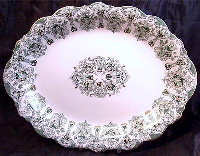 Antique J & G Meakin Genoa Art Nouveau England Tear or Leaf Relish Dish
