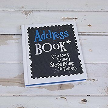 The Bright Side Address Book Contacts Telephone A-Z Name Hardback Design Gift