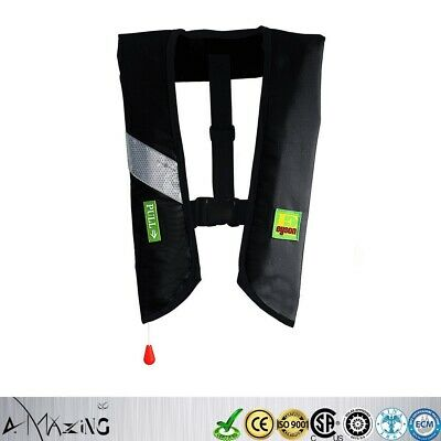 Outdoor M-33 Manual Inflate Life Jacket Premium Quality PFD Lifejacket NEW