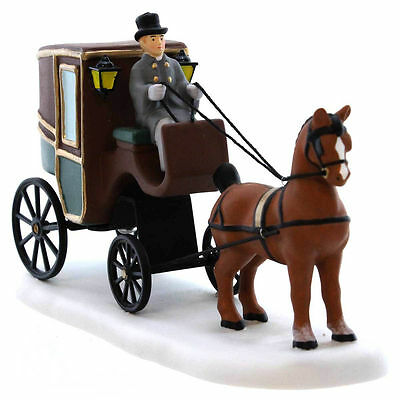 Department 56 Dickens Village - DICKENS' CARRIAGE RIDE - NIB FREE SHIPPING