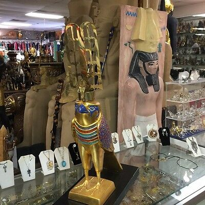 """""""REPLICA""""  Large Egyptian God Hours Hand Painted   MADE IN EGYPT"""