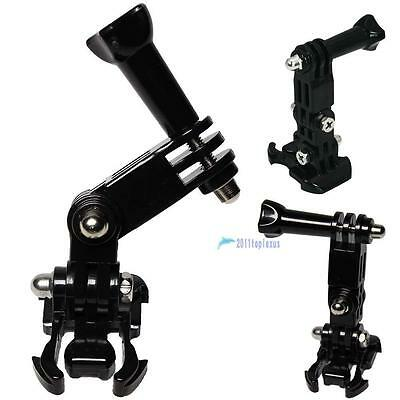 New 3-way Adjustment Base for Gopro Hero 1 2 3 Elastic Body Chest Strap Mount WY