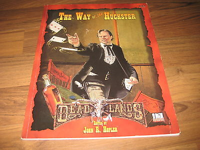 Deadlands d20 The Way of the Huckster Sourvebook Pinnacle 2000 PIN 1113
