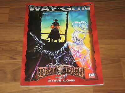 Deadlands d20 The Way of the Gun Sourvebook Pinnacle 2003 PIN 1112