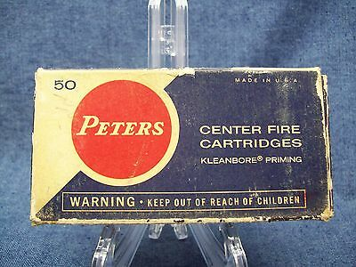 Vintage DuPont Peters Cartridge Co Box for 50 .357 Magnum Ammunition Ammo