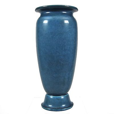 "Rookwood Pottery 10"" Production Vase #2787, Blue Mat, 1924"