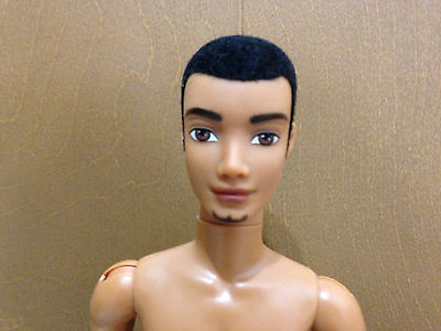 Barbie My Scene Sutton Ken Doll Goatee Articulated Jointed AA African American