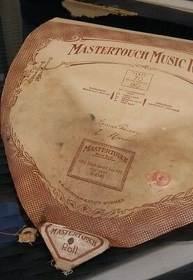 Pianola Roll Mastertouch Old Fashioned Locket Fox Trot D2191