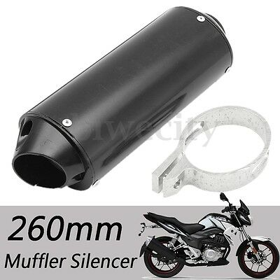 Black Exhaust Muffler Pipe For XR50 CRF50 SSR SDG YCF YX 50 70 90 110 Pit Bike