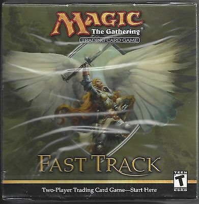 """1997 - NEW SEALED """"MAGIC The GATHERING""""FAST TRACK CARD GAME 2 PLAYER STARTER BOX"""