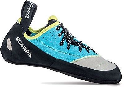Scarpa Velocity Lace Womens Shoes Light Gray-Turquoise