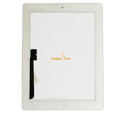 iPad 3 Touch Screen Glass Digitizer Assembly Replacement White