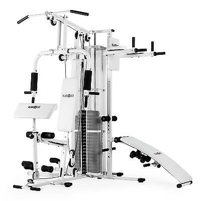 Home Fitness Equipment Multi Gym Workout Station Exercise Machine Weights Bench