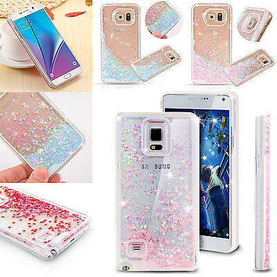 Bling Dynamic Flowing Liquid Glitter Quicksand Case Cover For Samsung S8+ Note8