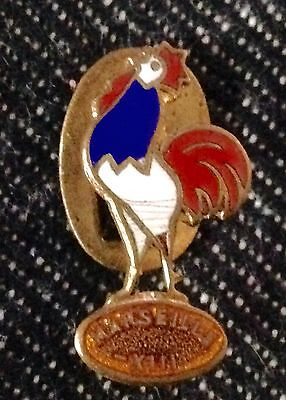 Vintage Rugby FRENCH RARE Buttonhole Badge