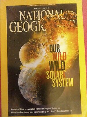 National geographic magazine.Our Wild Solar System.July 2013.