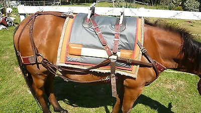Pack Saddle Harness & Tree includes Halfbreed Decker Packsaddle Trail Riding