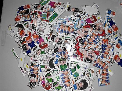 Lot of over 300 Anime Fan Art Keychains & Bookmarkers 'Yu Yu Hakusho' see photos