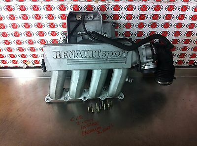 2003 Renault Clio 172 2.0 upper intake inlet manifold with bolts- TMS MOTORSPORT