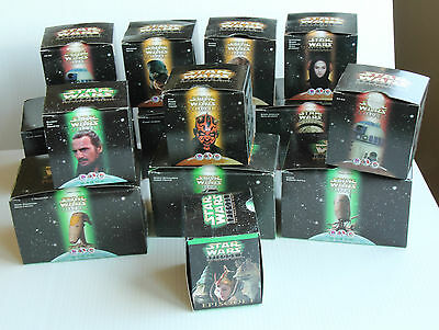 Star Wars Episode I  1999   - Mixed Lot of Boxes for Meal Toys ‏
