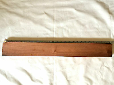 Cuban Mahogany Blank - XIXth century of a French Barrel from Caravels.Luthier