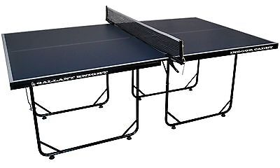 Blue Gallant Knight Cadet Indoor 3/4 Sized Table Tennis Table