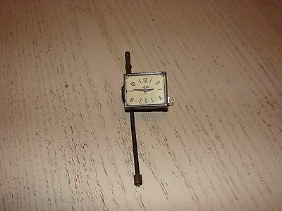 RARE VINTAGE Citroen Light 15/Traction Avant CAR CLOCK