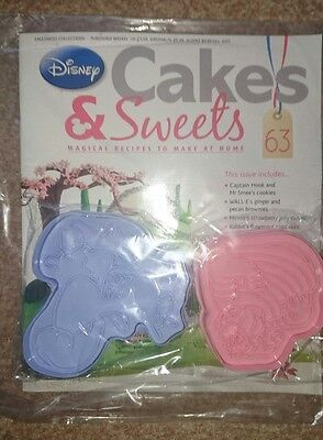 Disney Cakes and Sweets - Issue 63 - Mulan Cake & Captain Hook Cookies