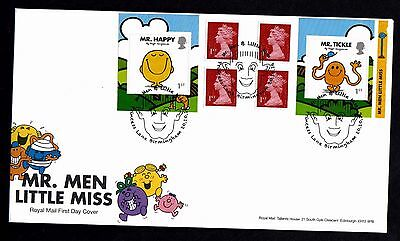2016 GB Royal Mail Mr Men Little Miss R/B  First Day Cover Unaddressed