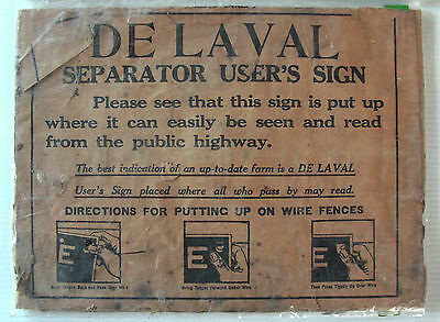 DeLaval Sign Instructions