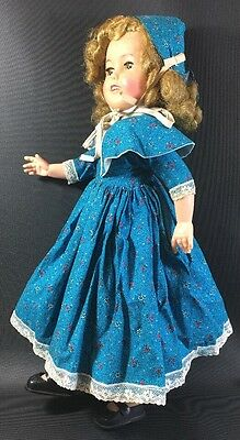 "SHIRLEY TEMPLE 17"" Doll  IDEAL, 1950's 6F"