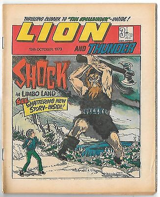 Lion 13th Oct 1973 (high grade copy) The Spider, Spellbinder, Adam Eterno
