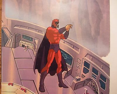 MAGNETO Production Cel – From the 1987 PRYDE OF THE X-MEN Special!