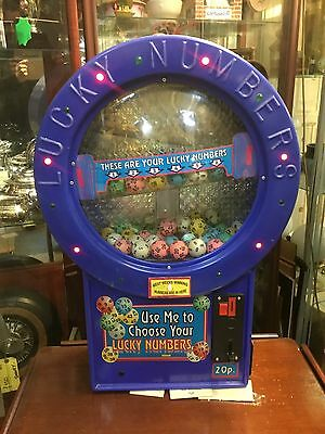 Electric Coin Operated Lottery/Lotto Machine !!!!!
