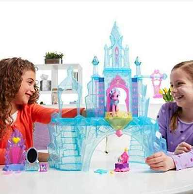 My Little Pony Explore Equestria Crystal Empire Castle Playset Gift Toy