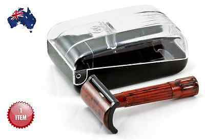 Merkur 45 C Bakelite Double Edge Safety Razor + Travel Case  - Aus Seller