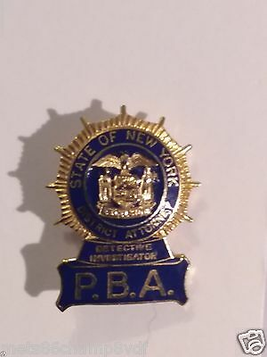 NYPD State of New York District Attorney Detective Investigator P.B.A. PBA