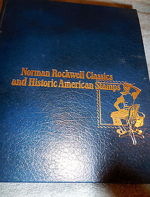 Norman Rockwell Classics and Historic American Stamps  90 covers Very Nice