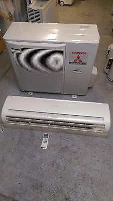 Mitsubishi Air Conditioning 7.1Kw Wall Mounted System SRK71ZE-S Heat Pump MHi