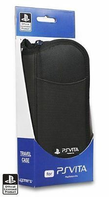 New 4gamers Travel Case for Sony PS Vita Official Licensed Product Black