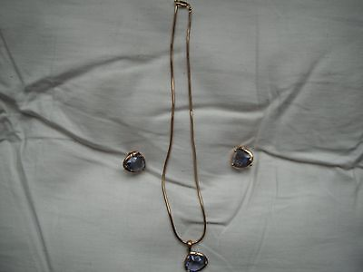 Necklace and earring set new and unused