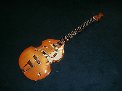 Vintage 1960's Norma Violin Bass Guitar! Japan-Made, Plays Great!