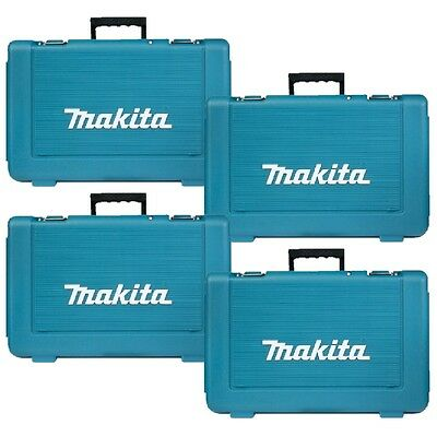 4 x MAKITA CARRY CASES FOR 18V LI-ION CORDLESS DRILL OR IMPACT DRIVER