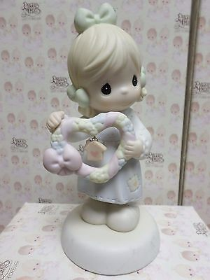 HOME IS WHERE THE HEART IS -Precious Moments Figurine By ENESCO 325481 NO BOX