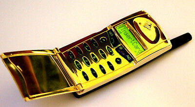 Ericsson GF768 Golden Edition Rare working collectible with new geniune battery